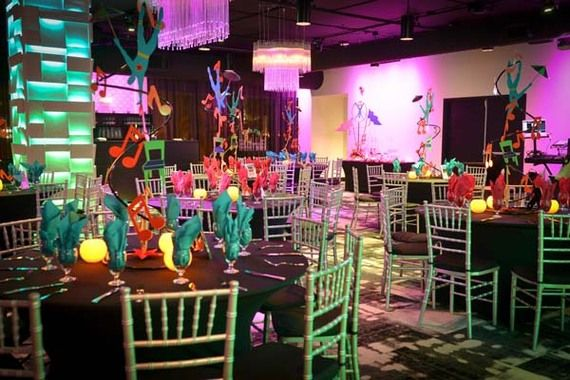 cirque du soleil themed bat mitzvah decorations bat mitzvah party circus decorations. Black Bedroom Furniture Sets. Home Design Ideas