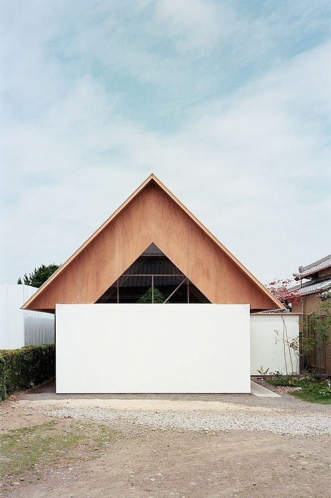 Minimalist Home Extension in Japanese Style by mA-Style #homeextensions
