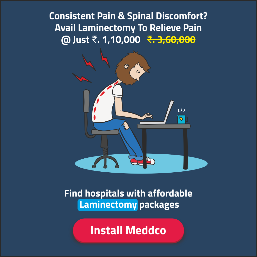 Search and compare affordable Laminectomy packages here