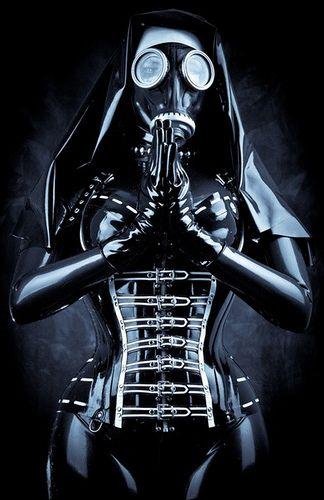 52b27ce4f2f Latex nun in gas mask