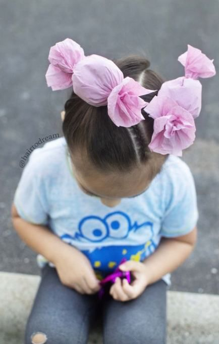 Hairstyles For School Girls Fun 44 Ideas #crazyhairday