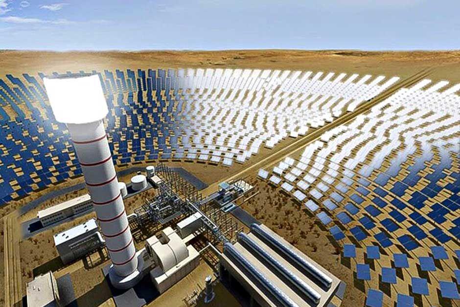 Solar Power Dubai Project Solar Concentrated Solar Power Solar
