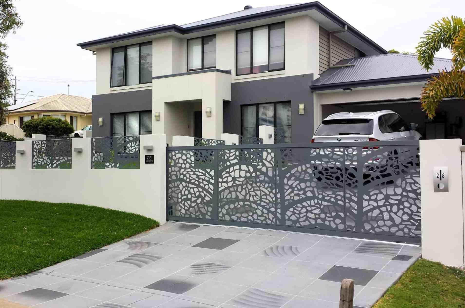 Decorative Entry & Driveway Gates House fence design