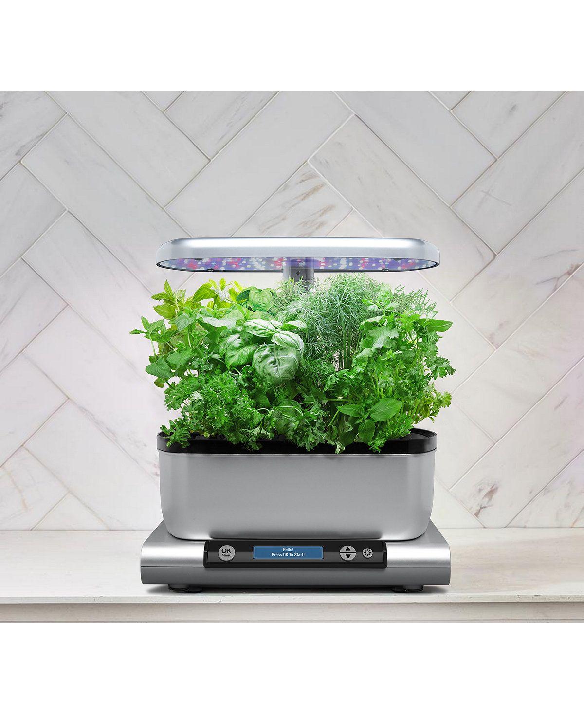 Aerogarden™ Harvest 6 Pod Smart Countertop Garden Black 400 x 300