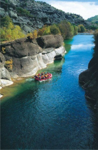 venetikos river at Grevena In West Macedonia Greece