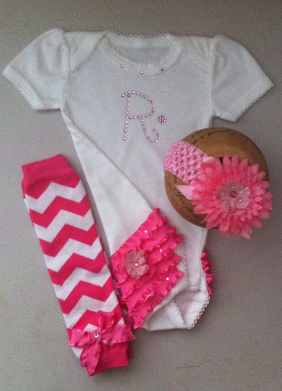 Girls Baby Bling Personalized Baby Clothes Swarovski by solcreator ...