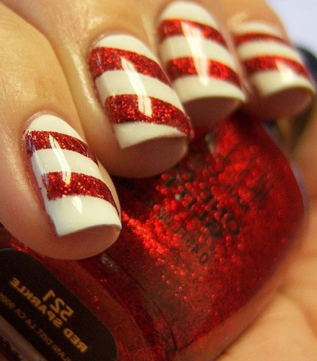 easy christmas nail art designs - Nail Design Ideas 2012