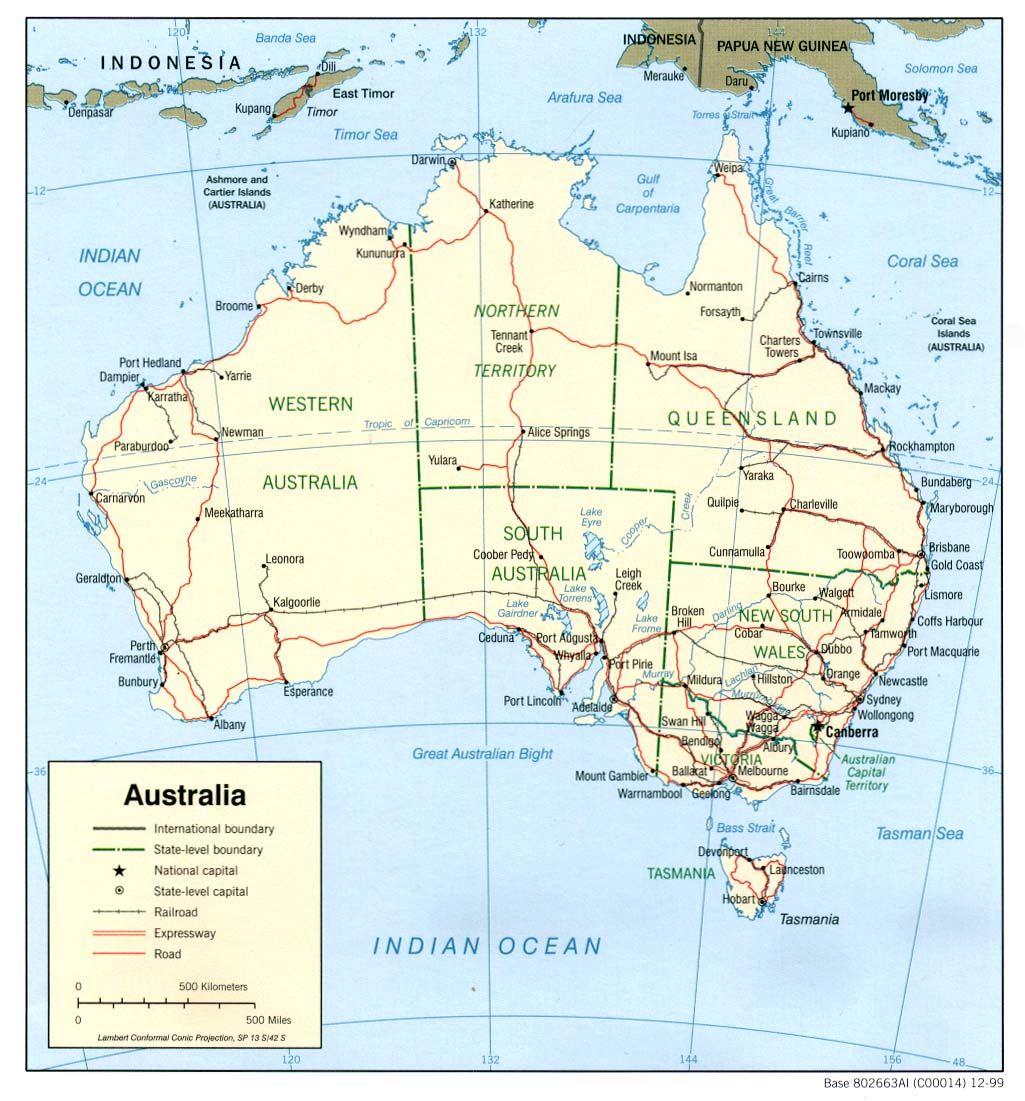 Australia political map world map pinterest australia australia political map gumiabroncs Image collections