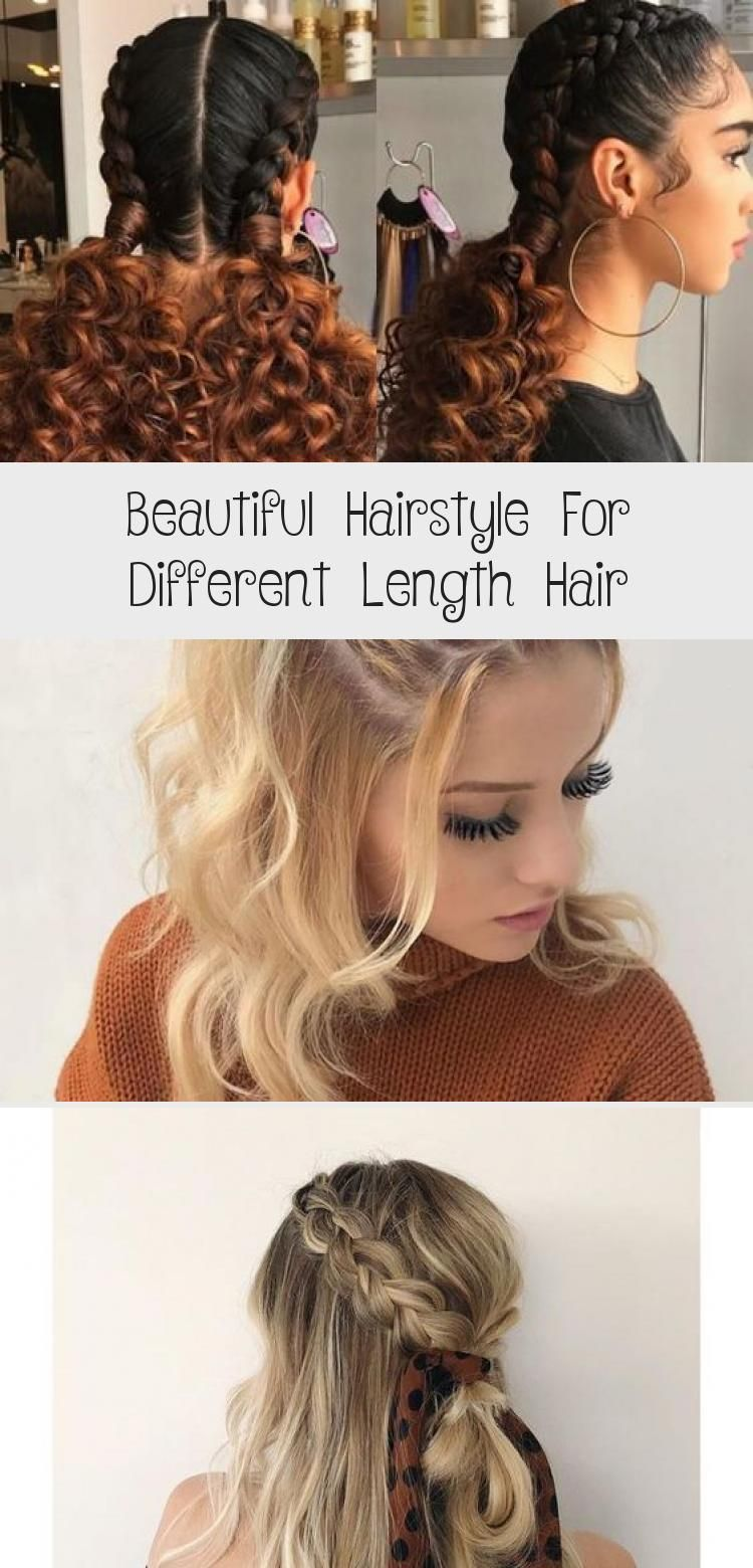 Beautiful Hairstyle For Different Length Hair Fashion