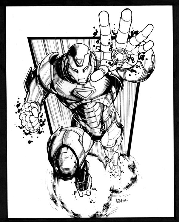 Iron Man by olivernome on deviantART