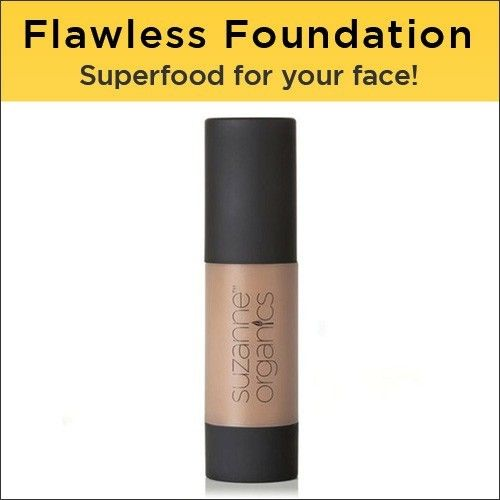 SUZANNE Organics Sheer Flawless Foundation: All Natural Organic Foundation -… #Suzanne_Somers #cosmetics #organics #somers #suzanne