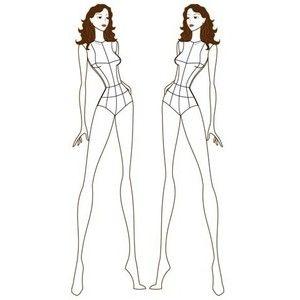 female fashion croquis templates female fashion figure
