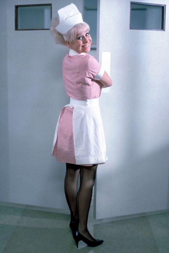 Barbara Windsor, Carry On Doctor.   Barbara windsor, Carry on, British films