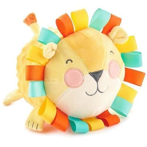 "Hallmark Lion Stuffed Animal Chime Ball, 5.5"""