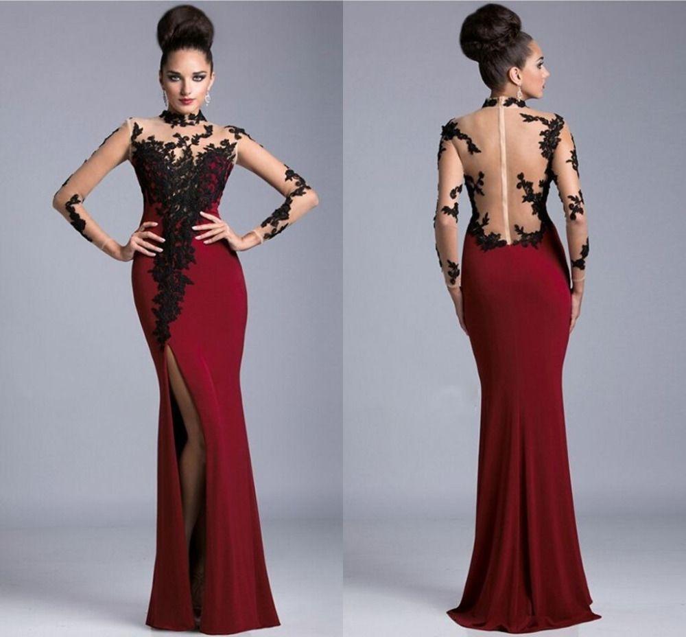 maroon homecoming dresses | \