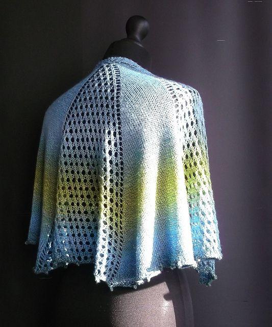 Cascade shawl 19 pattern by Brian smith | Shawl knitting ...