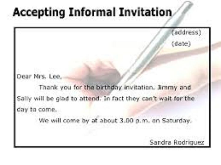 reply to birthday invitation