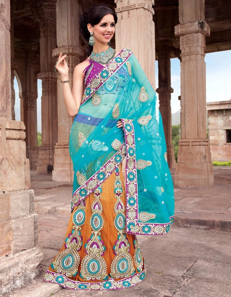 Choli saree is a traditional dress of indian women.now designer ...