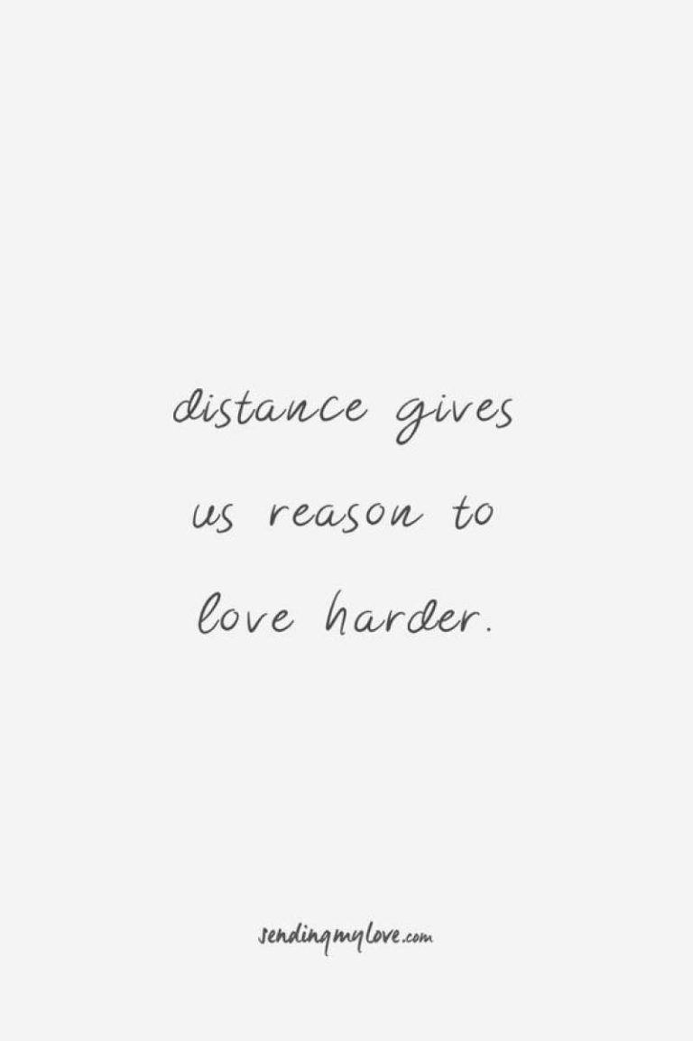 Long Distance Relationship Quotes to help you & your love survive the testing times
