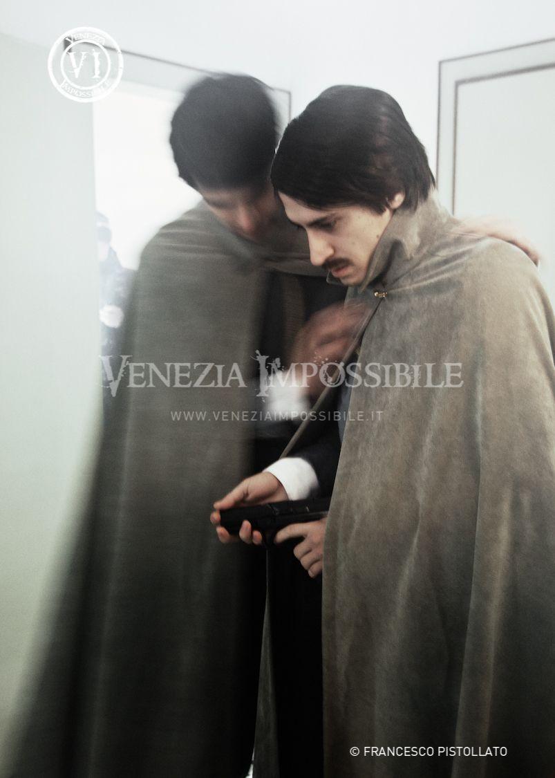Da sinistra, Roberto Vertieri [co-protagonista] e Davide Strava [co-protagonista].  Location: abitazione privata, Fontane di Villorba.