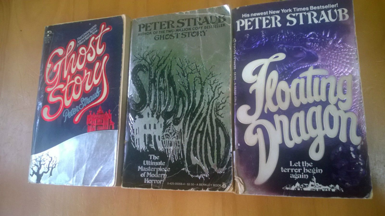 Peter Straub Lot (3) Ghost Story, Shadowland, Floating