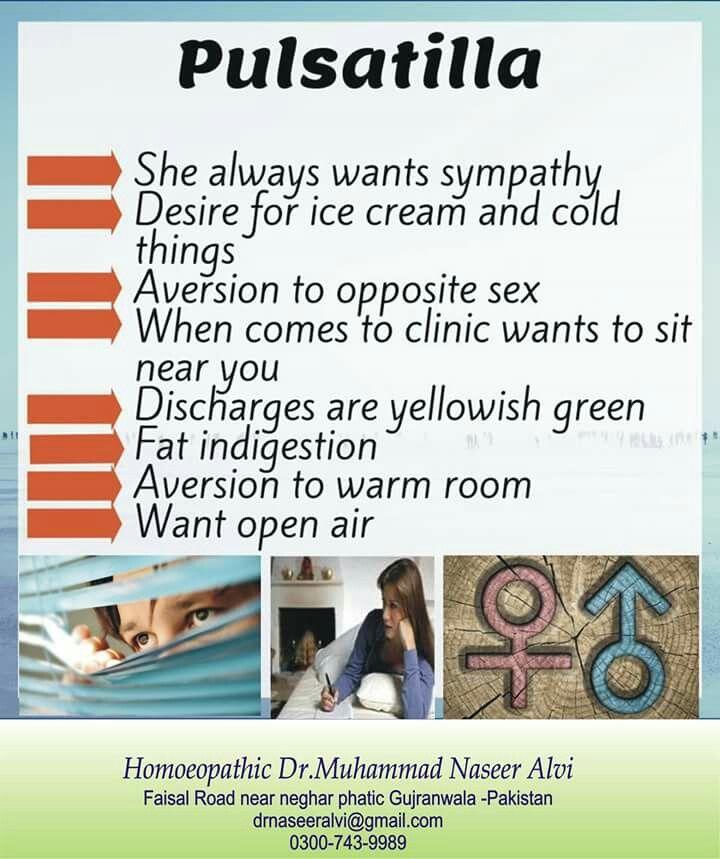 Pulsatilla | Natural Remedies | Homeopathy treatment