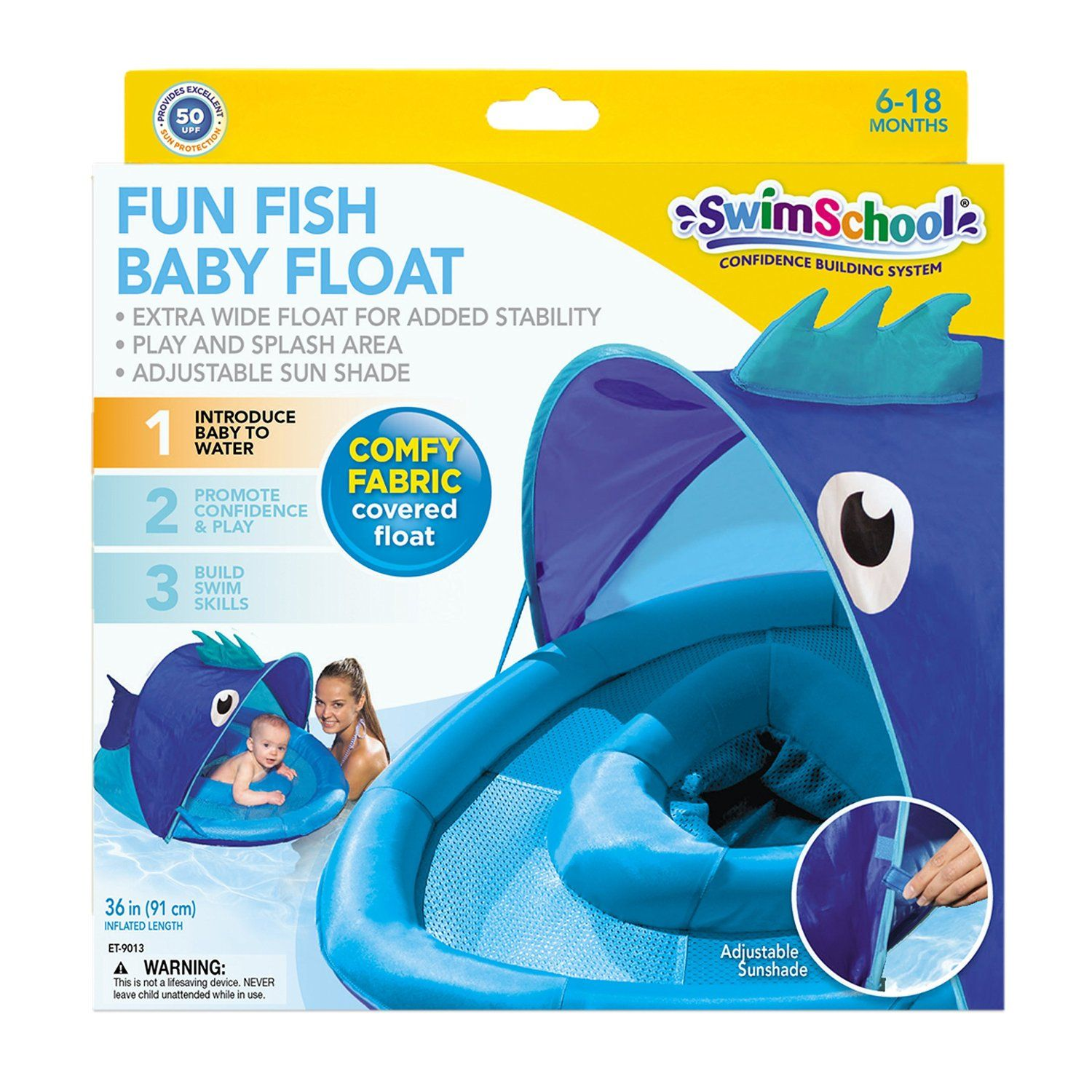 Amazon.com SwimSchool Fun Fish BabyBoat in Pink by Aqua Leisure Toys u0026  sc 1 st  Pinterest : baby boat with canopy - memphite.com