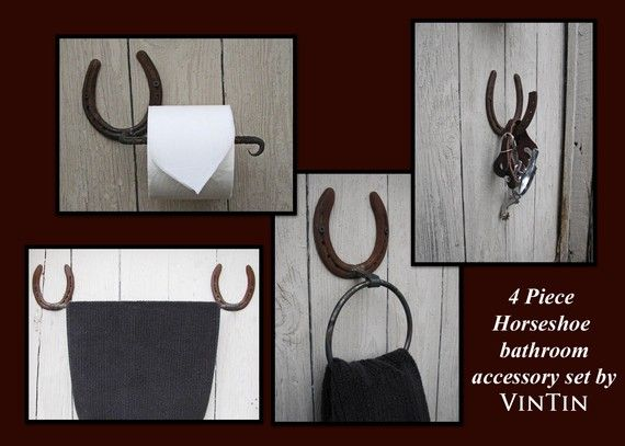 Horseshoe Bathroom Accessories By Vintin Welding And Fabricating