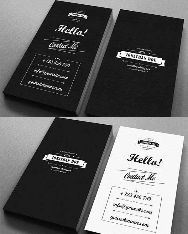 Business Cards Design 25 Creative Examples 2