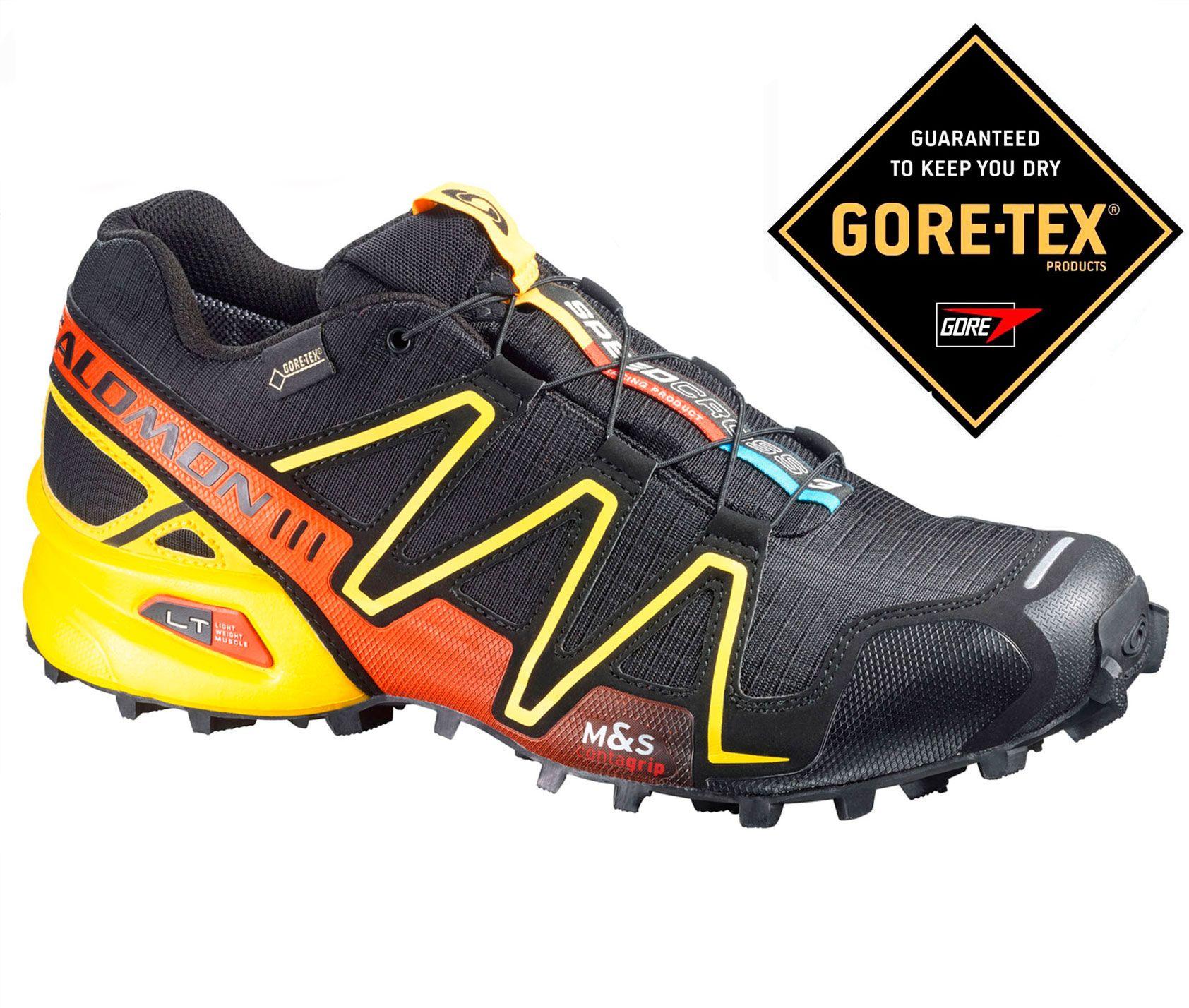 SALOMON SPEEDCROSS 3 GTX NARANJAAMARILLO   Hiking boots