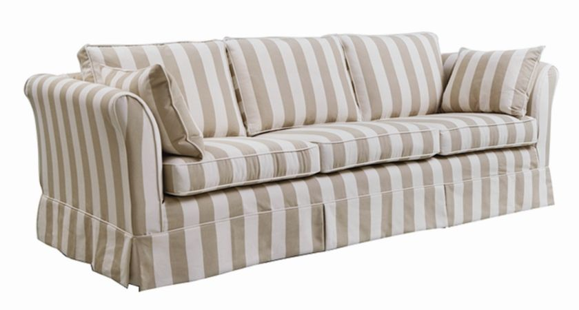 Faze 3 Seater Sofa With Removable Loose Cover Fully Steel Sprung In The Traditional Style