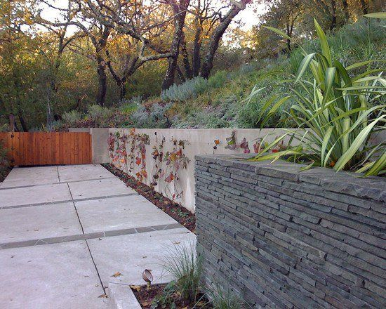 construire un mur de sout nement 84 id es jardin pratiques sout nement ardoise et mur. Black Bedroom Furniture Sets. Home Design Ideas