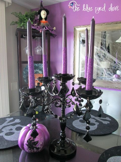 halloween decorations home tour, halloween decorations, seasonal - halloween decorations at home