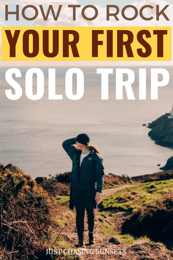 How To Rock Travelling Alone For The First Time Internationally Solo Female Travel Safety Female Travel Blog Solo Travel