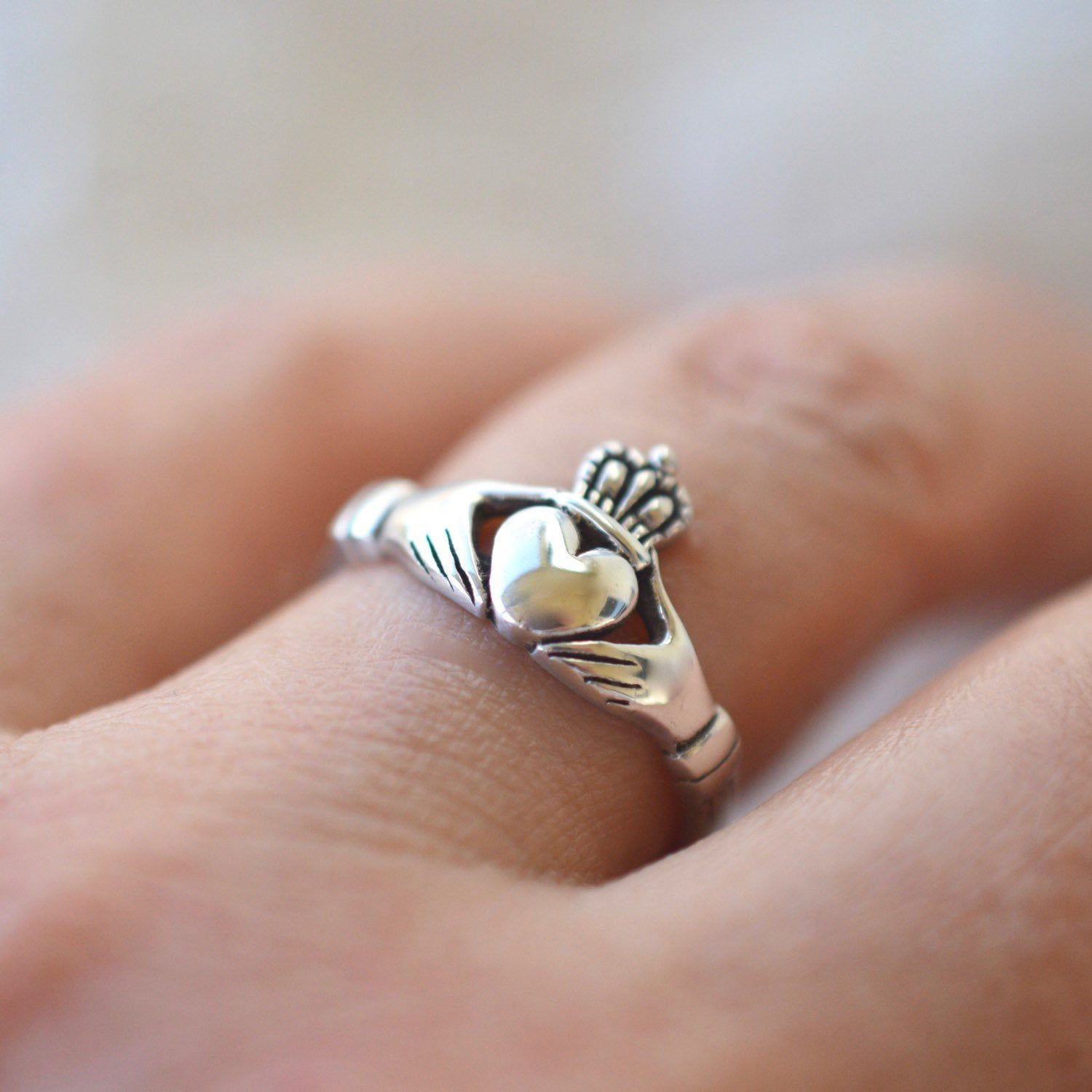 So loved and so iconic. The Irish Claddagh ring represents