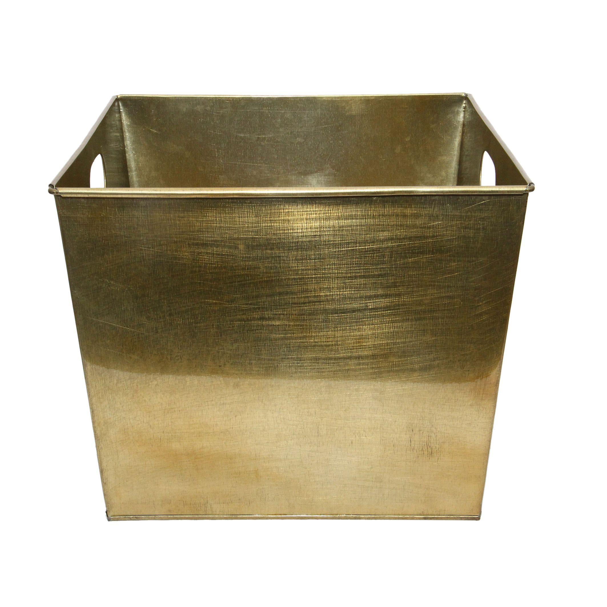 Ferrum Galvanized 15-inch x 15-inch x 12.5-inch Handled Tub
