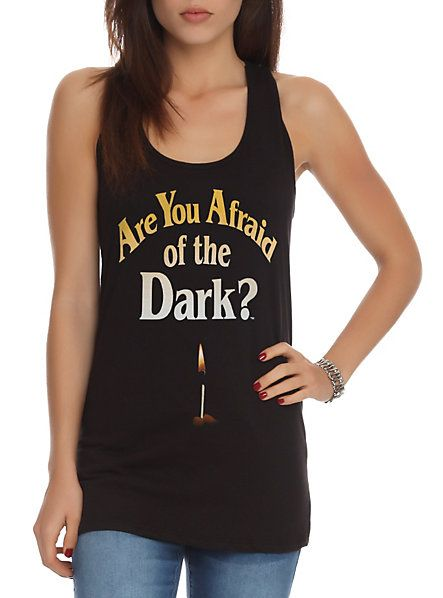 Are You Afraid Of The Dark? Girls Tank Top