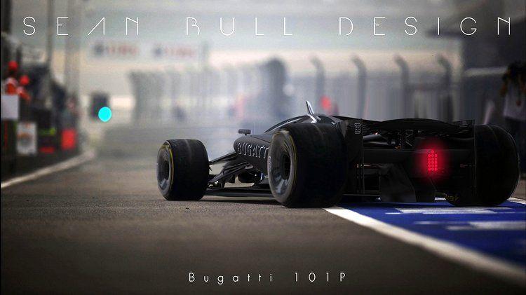 Bugatti 101P - F1 2020 Concept Testing Livery | Auto design