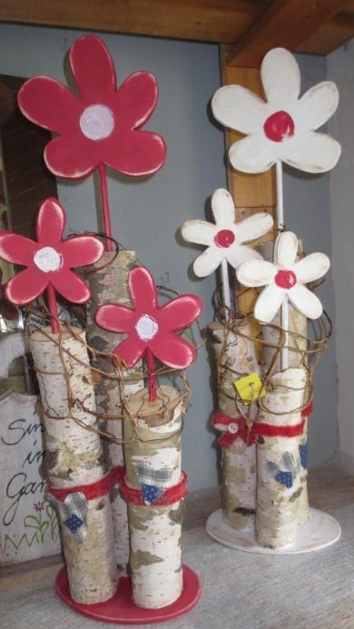 www de dekorationen auf stamm summer crafts pinterest dekoration holz und fr hling. Black Bedroom Furniture Sets. Home Design Ideas