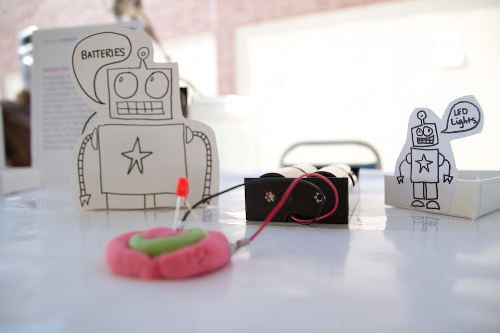 Play Dough Circuits and Robot Fest | Conductors, Play dough and ...
