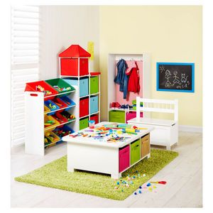 ClosetMaid Kids Activity Storage Table White  sc 1 st  Pinterest & ClosetMaid Kids Activity Storage Table White | Playroom | Pinterest ...