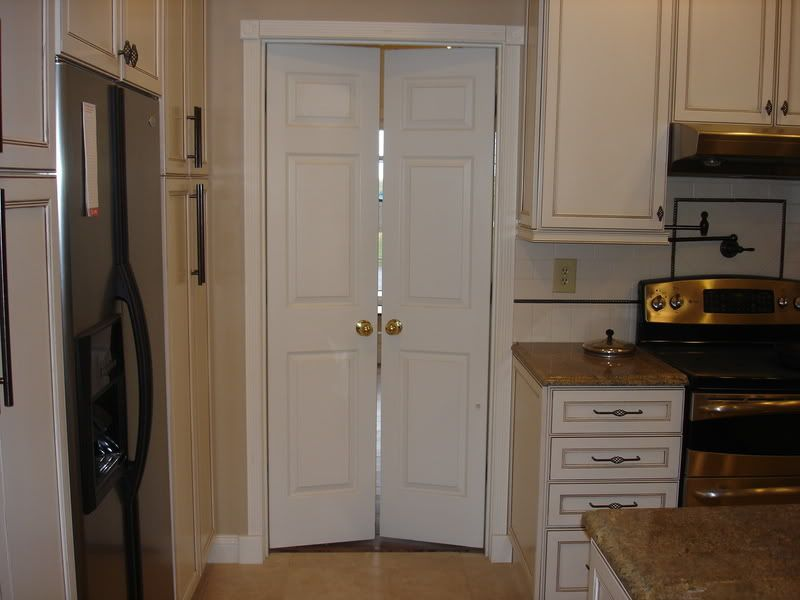 Another option doors for tight spaces can be made from for Interior double french doors for sale