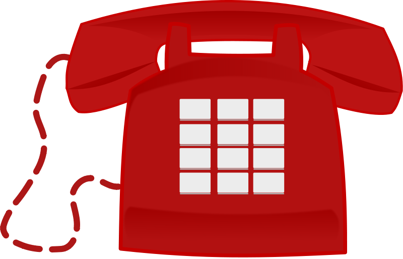 Red Phone Clipart Clip Art Phone Olds