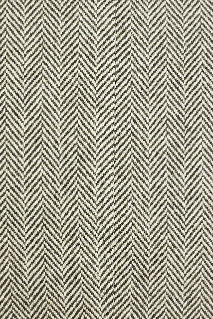 Rm Norther Wool Long Coat Herringbone Fabric