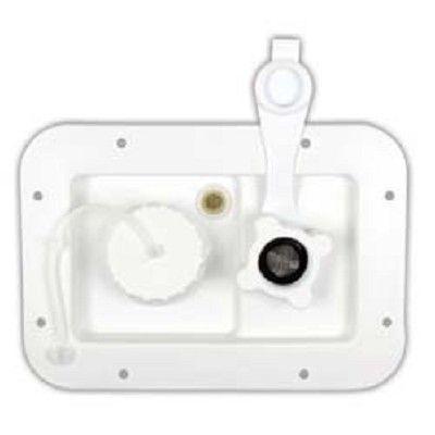JR Products RV Trailer Gravity Water Hatch Access Door