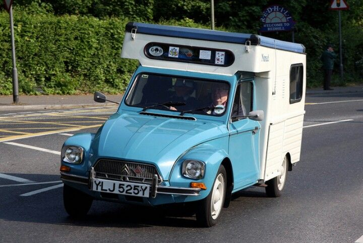 Citroen Dyane With Images Small Cars Camping Trailer Recreational Vehicles