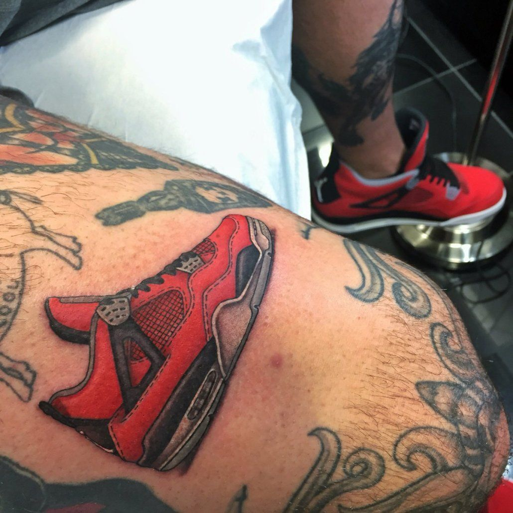 Nike Terra Tc Box  Best Sneaker Tattoos  Solecollector  Tattoos