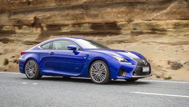Motoring writer Richard Bosselman test drives the new Lexus RC sports coupe