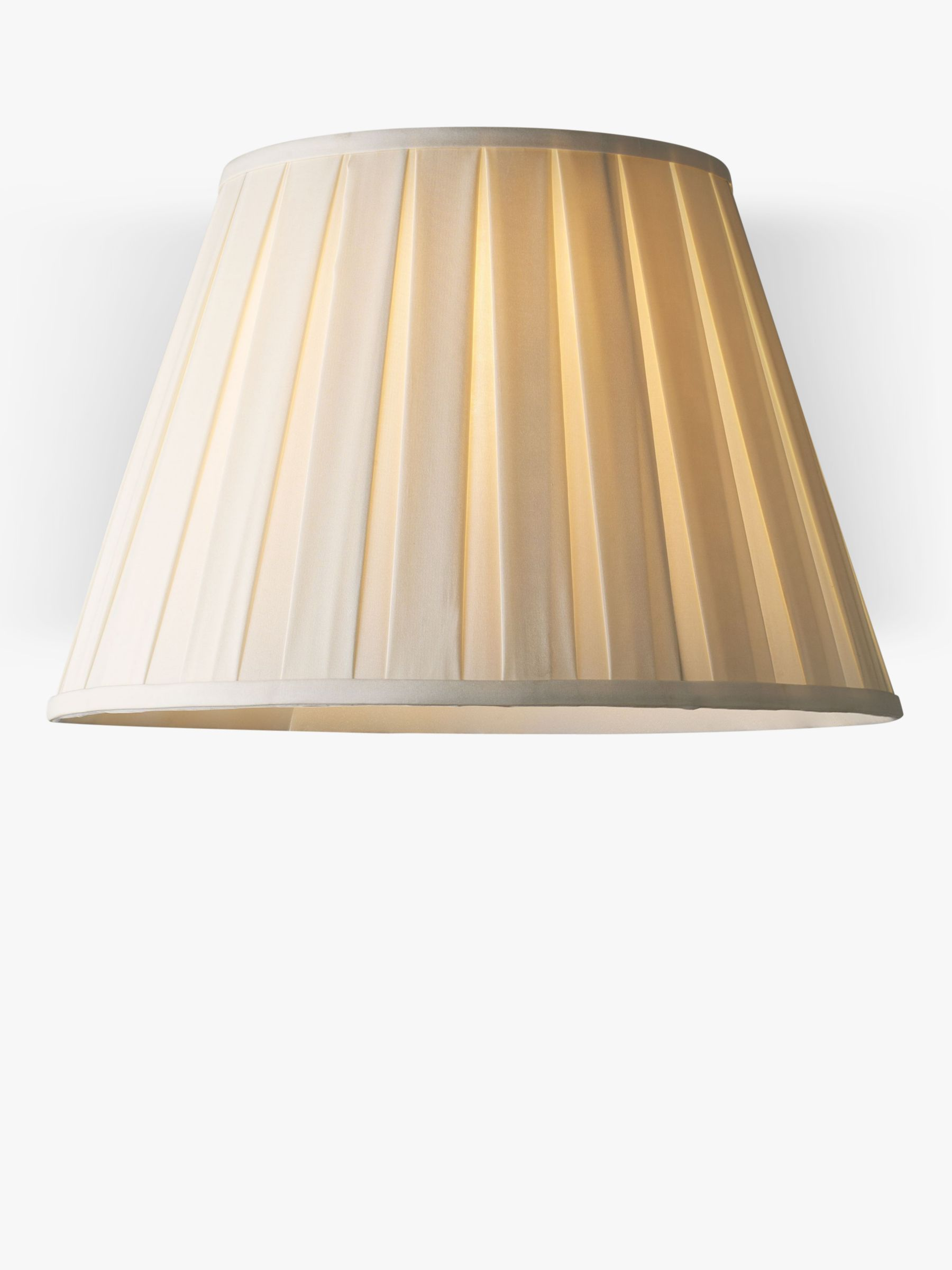 John Lewis Partners Oratorio Silk Tapered Lampshade Lamp Shades Ceiling Lamp Shades Lampshades
