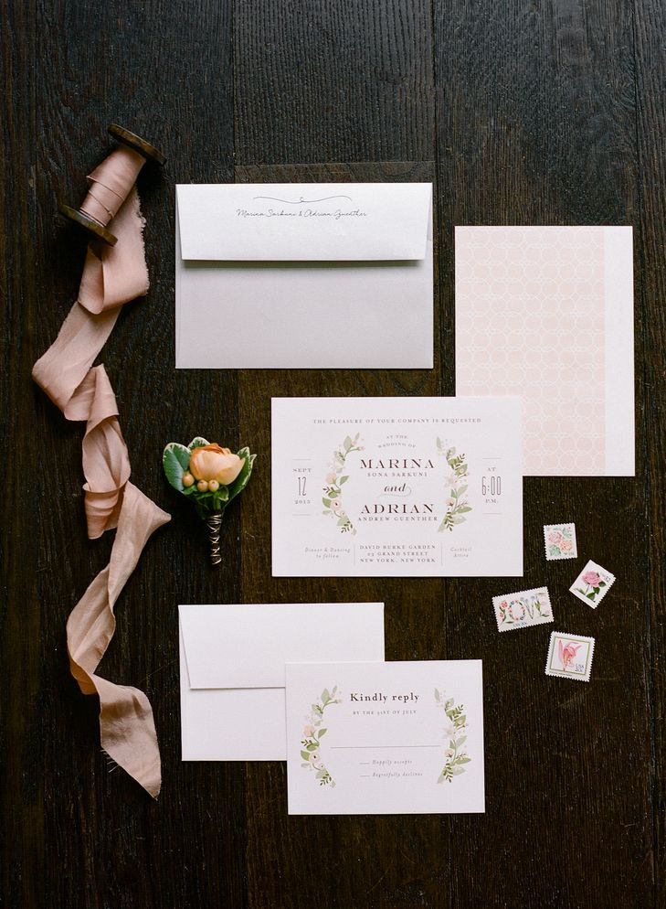 Minted illustrated floral invitations minted rebecca set the tone for your outdoor garden wedding with a botanical inspired wedding invitation design from minted image courtesy of stopboris Gallery